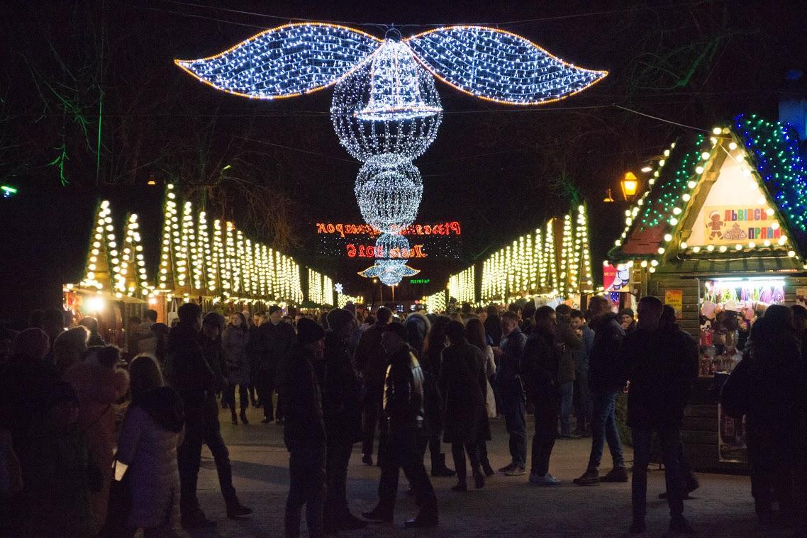 Фотографии украшение города в новый год москва лондон