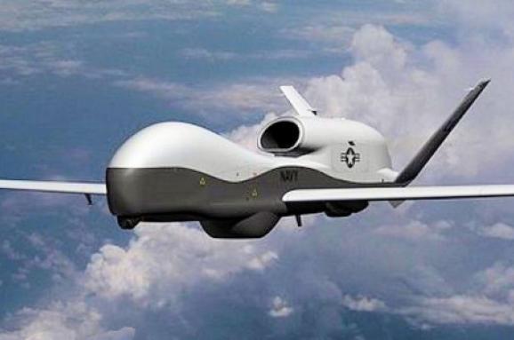 Безпілотник США провів розвідку наДонбасі біля кордону зРФ