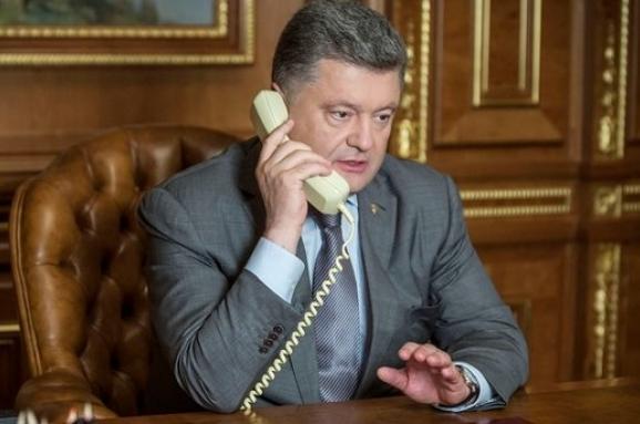 Порошенко і Макрон скоординували позиції перед самітом «Великої сімки»