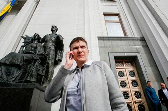 Савченко націлилась напост президента України