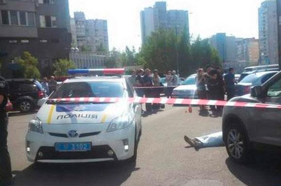 Поліція встановила особу вбивці колишнього в. о. директораДП «Укрспирт» Панкова