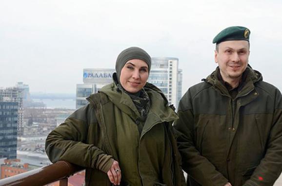 Поліція закликає незаважати охоронцям Осмаєва таОкуєвої