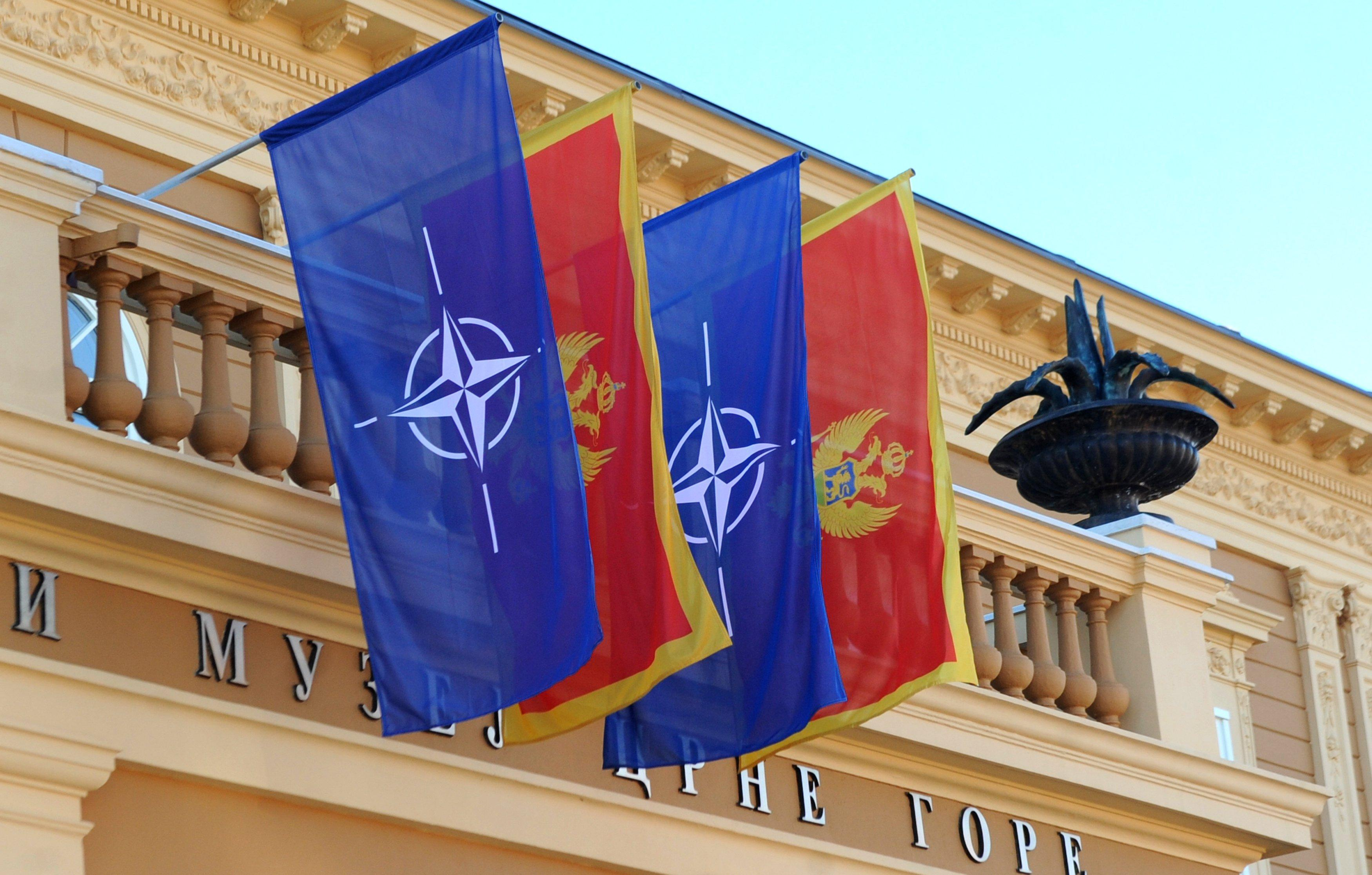 Уштаб-квартирі НАТО замайорів прапор Чорногорії