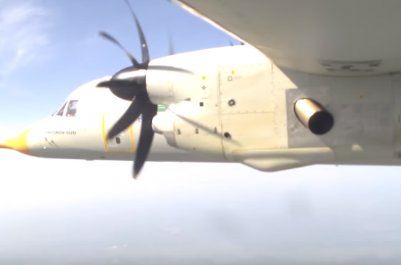 «Антонов» показав унікальні кадри польоту Ан-132