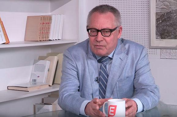 Писатель Карл Шльогель Я только после Майдана понял, что Украина не провинция России
