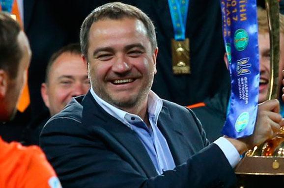 Павелка переобрано президентом ФФУ на5 років