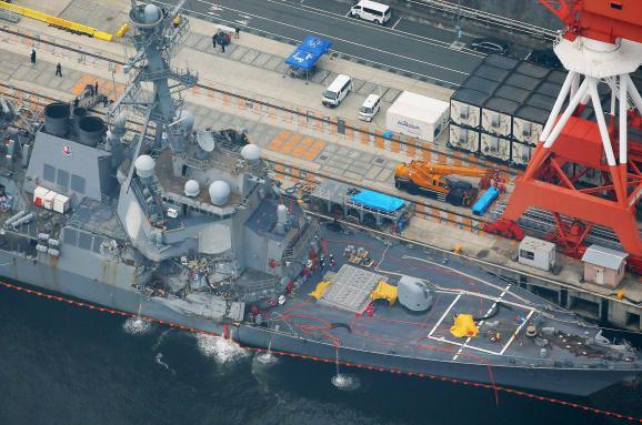 Тіла зниклих моряків есмінця США знайдені взатопленій частині корабля