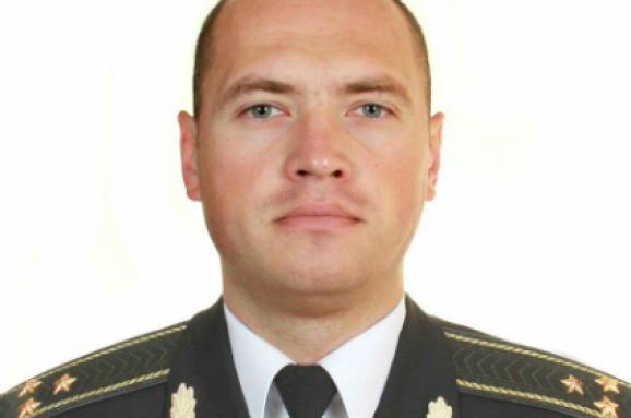 полковник Максим Шаповал
