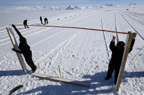 футбол в Антарктиде
