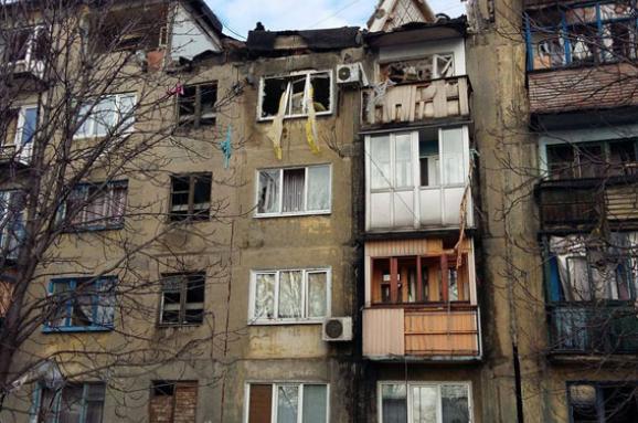 вибух в Українську
