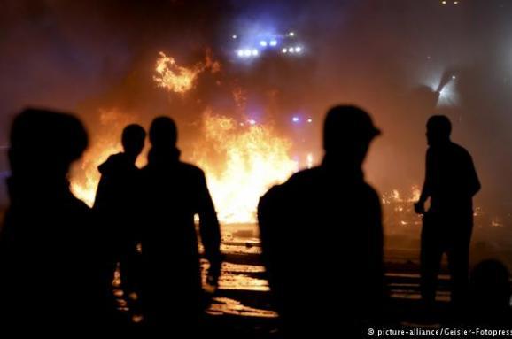 Серед протестувальників під час саміту G20 вГамбурзі знайшли шістьох росіян