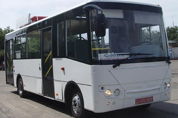 ВУкраїні випускатимуть автобуси згазовими двигунами за європейськими екостандартами