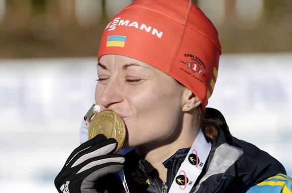 Українська жіноча збірна з біатлону подарувала феєричну перемогу вестафеті