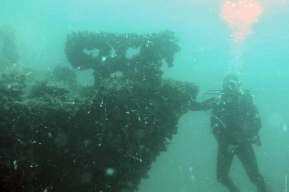 Назнайденому наОдещині затонулому кораблі перебувають боєприпаси— ДСНС