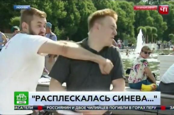 Журналіст НТВ