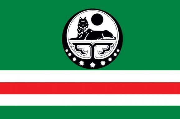 Настоличному Майдані розгорнули найбільший усвіті прапор Ічкерії