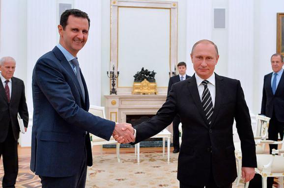 Асад заявив, щоДамаск зірвав плани Заходу пойого поваленню