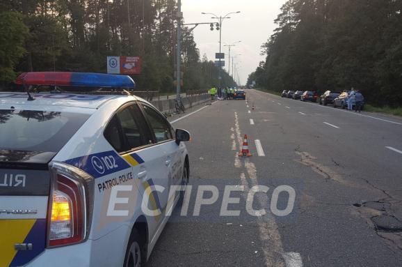 ВКиеве вДТП с заграничным авто умер велосипедист