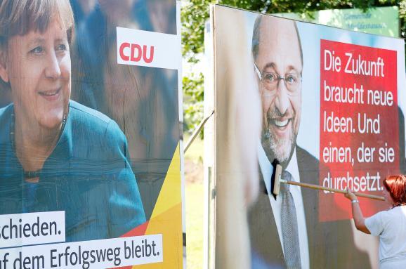 Німеччина парламентські вибори агітація