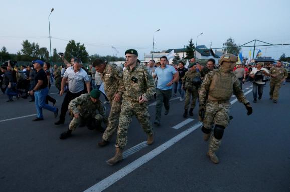 Суд заарештував підозрюваного впрориві кордону разом зСаакашвілі