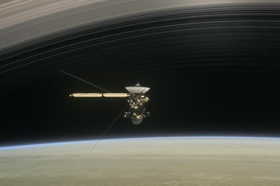 НАСА апарат Кассіні Сатурн