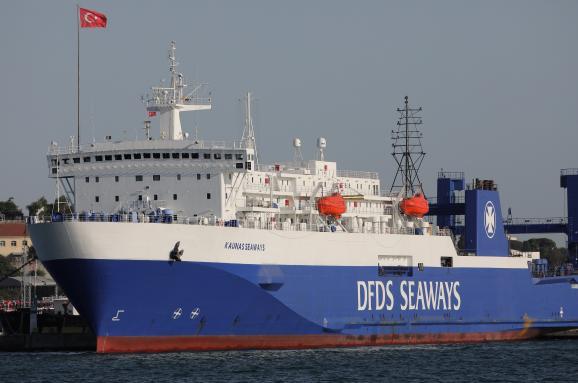 Kaunas Seaways паром мигранты