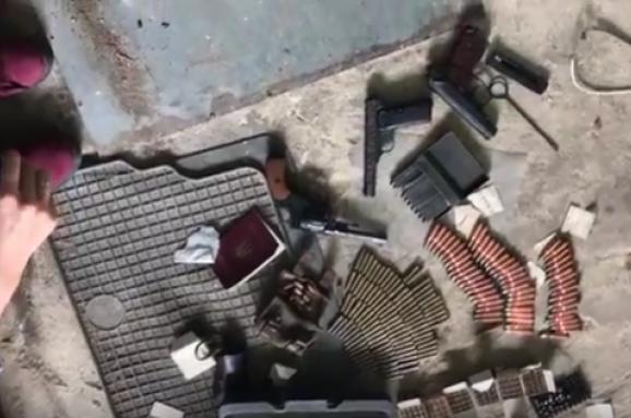 Силовики ліквідували вКиєві підпільний цех із виготовлення зброї