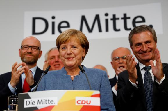Ангела Меркель вибори