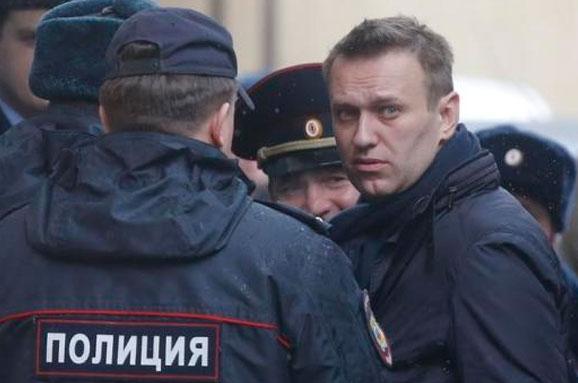 УМоскві знову затримали Олексія Навального