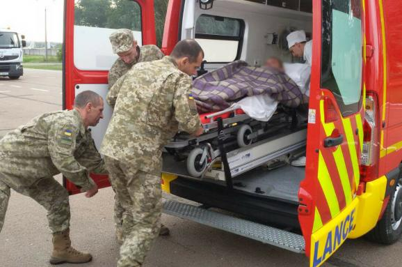 УЛуганській області вДТП постраждали п'ятеро прикордонників