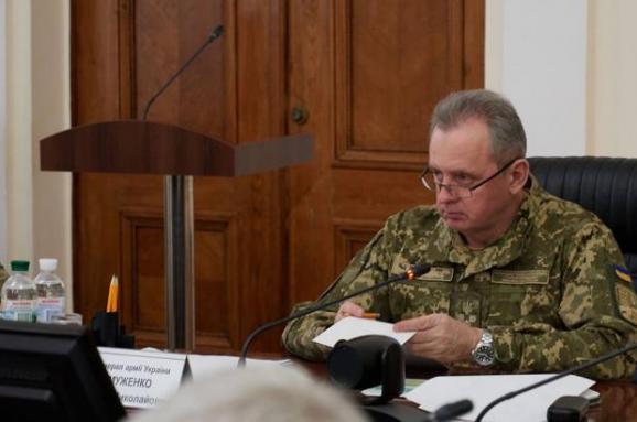 ЗСУ втратять 12 тис. військових уразі силового повернення Донбасу— Муженко