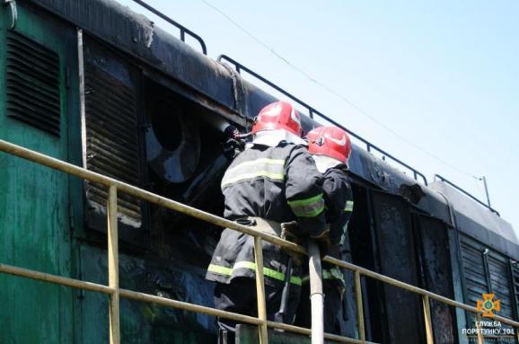 «Укрзалізниця»: Пожежу упоїзді «Миколаїв-Київ» ліквідовано