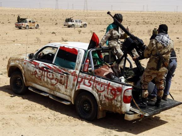 Лівія повстанці Муаммар Каддафі