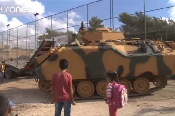 Турецька військова колона перетнула кордон Сирії
