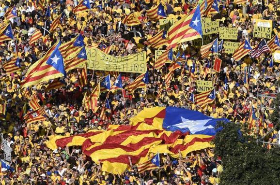 Барселона демонстрация