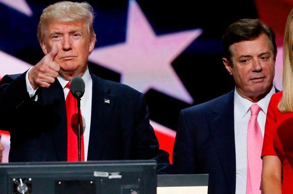 Трамп відреагував назвинувачення проти Манафорта
