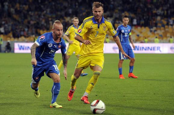Украина — Словакия. Все о заключительном матче футбольной сборной в 2017 году