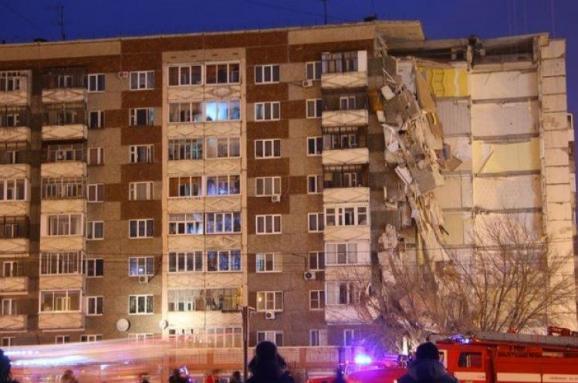 Увесь під'їзд житлового будинку обрушився вросійському Іжевську
