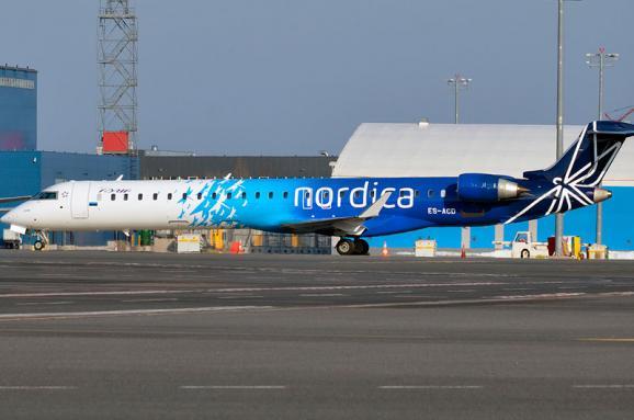 Естонська авіакомпанія вирішила відкрити новий рейс вУкраїну