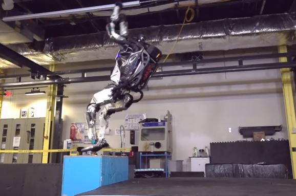 Інженери навчили робота Atlas робити сальто