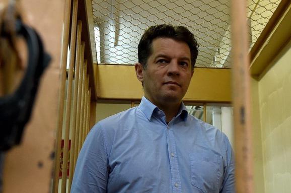 Київ протестує проти продовження арешту вРФ українського журналіста Сущенка
