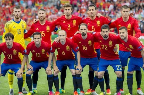Сайт сборной испании футболу