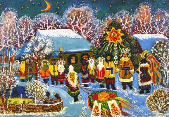 Картинки по запросу Традиции и обычаи 12 святочных дней - от Рождества до Крещения...