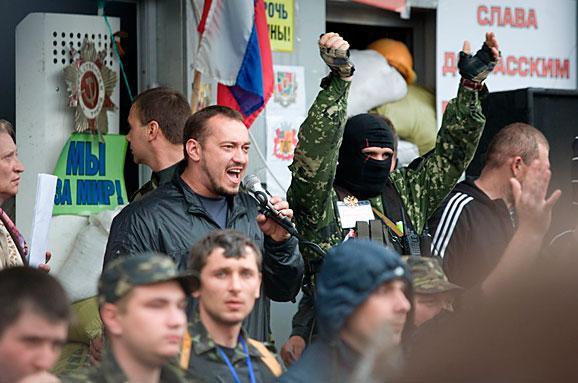 Луганские сепаратисты перессорились из-за российских денег (видео)