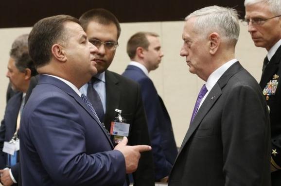 Полторак зустрівся зглавою Пентагону вСША