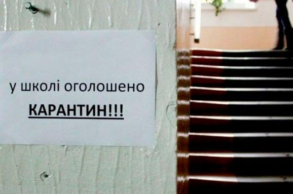 Узв'язку згрипом заняття втрьох школах Києва зупинено
