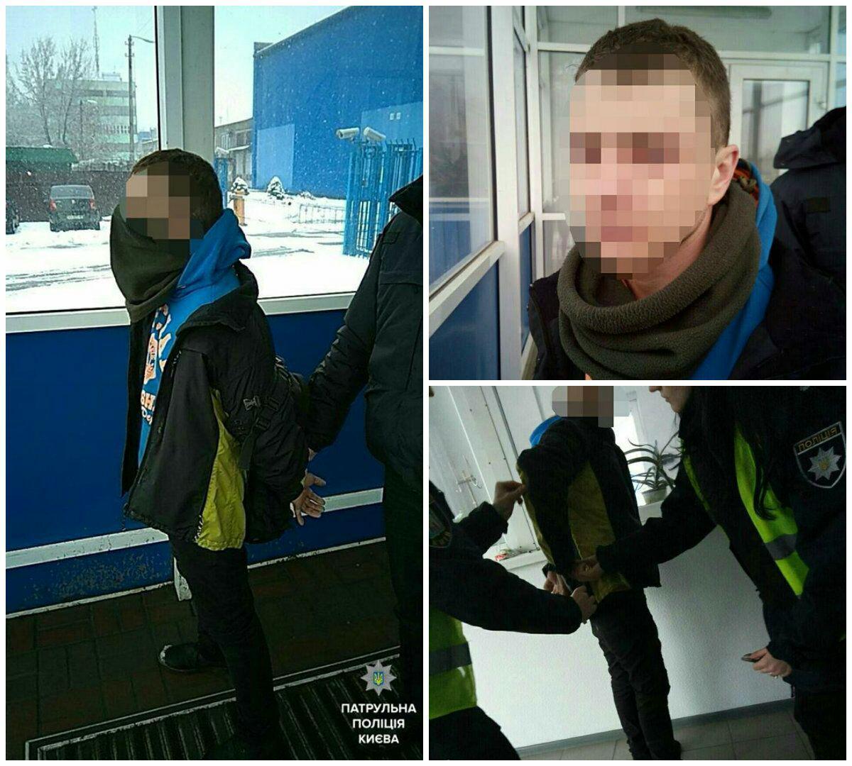 В Киеве на остановке злоумышленник зарезал мужчину из-за замечания