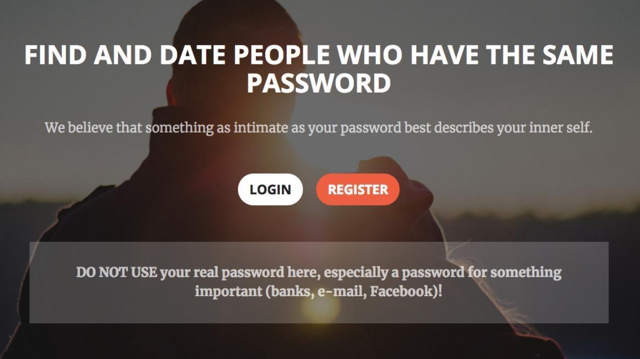знакомств сайту пароли к