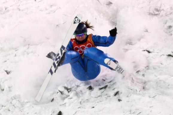 Олімпіада-2018. Українська фристайлістка зупинилася за крок до фіналу у лижній акробатиці