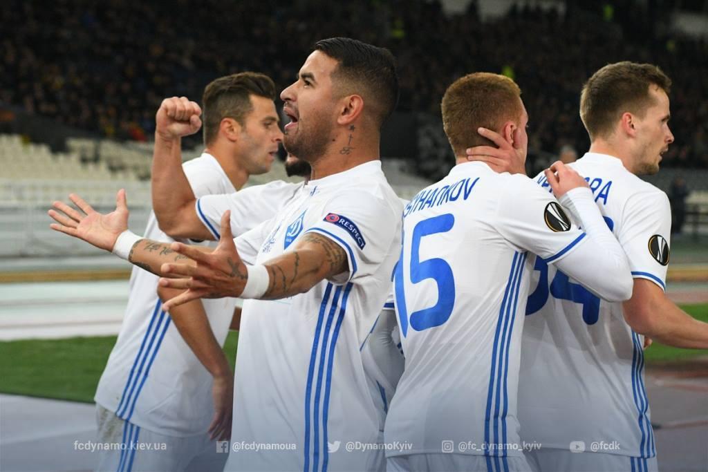 Матч Ліги Європи: букмекери дали прогноз нагру Динамо— АЕК